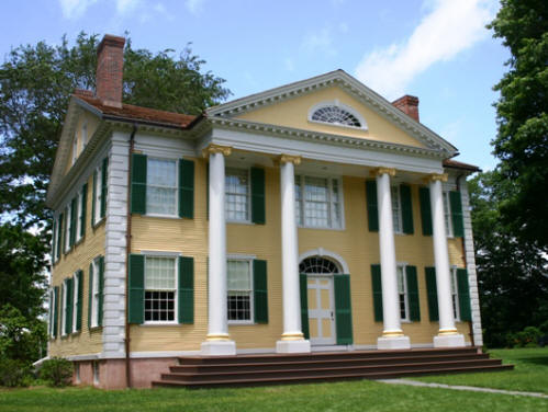 Exterior view of the Florence Griswold Museum, which hosts a Free Day for New London residents on Sunday.