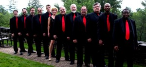 The Red Satin Band will perform at Sound View on Thursday.