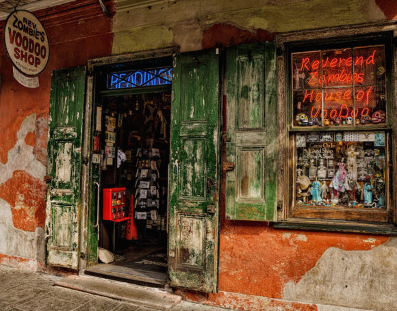 The Voodoo Shop is another image by Howard Margules that was juried into the current CVCC show at Congregation Beth Shalom Rodfe Zedek in Chester.