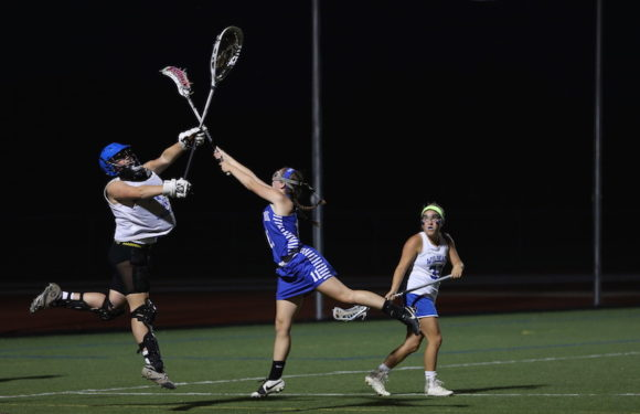 Wildcat goalie Hananh G fiercely defends the goal. Photo by Lauren Romeo.