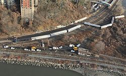 The Spuyten Duyvil derailment in 2012 caused massive disruption.