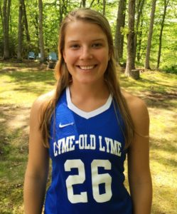 All-American girl's lacrosse player Sloane Sweitzer