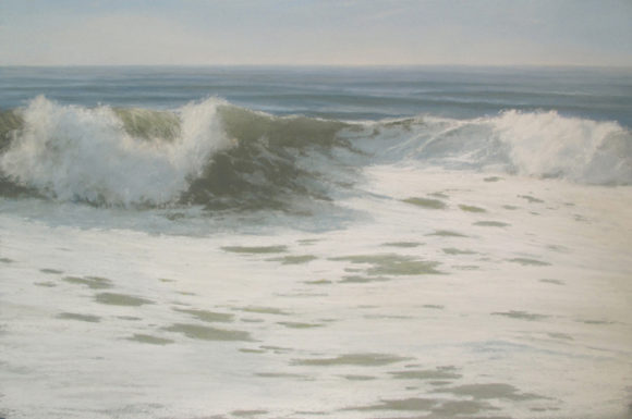 "'Boundless Energy"" by Anthony Davis is one of the signature paintings of the American Waters exhibition."