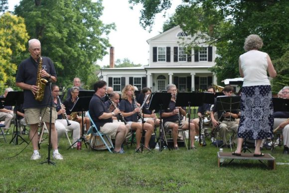 Free Concert by Old Lyme Town Band @ Old Lyme South Town Green