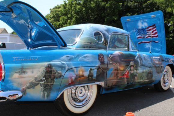 The Medal of Honor Recipient Recognition '56 Ford Thunderbird will be the Centerpiece of an Interactive Exhibit and Heroes Tribute Coming to the Dealership during the 2016 Holiday Season and Beyond