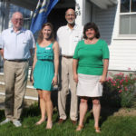 Old Lyme Historical Society Honors Special Member, Retiring Board Members; Presents Scholarship