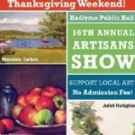 Hadlyme Hall Artisans Show Opens With Reception, 4-8pm Today
