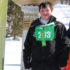 Evan Visgilio of Old Lyme Places at Special Olympics Vermont Winter Games