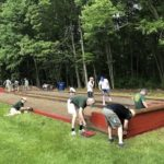 Anyone for Bocce? St. Louis Renovates Lymes's Senior Center Courts for Eagle Scout Service Project