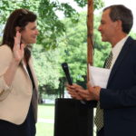 Jeannine Lewis Sworn In as Judge of Probate for Saybrook District, Includes Town of Lyme