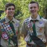 Theodore Wayland, Evan St. Louis Earn Eagle Scout Awards; Celebration to be Held in Their Honor, Nov. 4