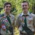 Theodore Wayland, Evan St. Louis Earn Eagle Scout Awards; Celebration Held in Their Honor, Nov. 4