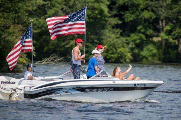 Rogers Lake Boat Parade @ Rogers Lake