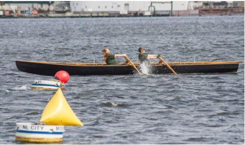 Learn to Row an Irish Currach @ Hains Park/Rogers Lake